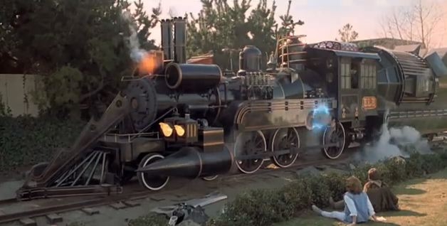 back to future 3 train end movie
