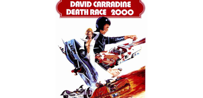 1975 death race 2000 movie poster