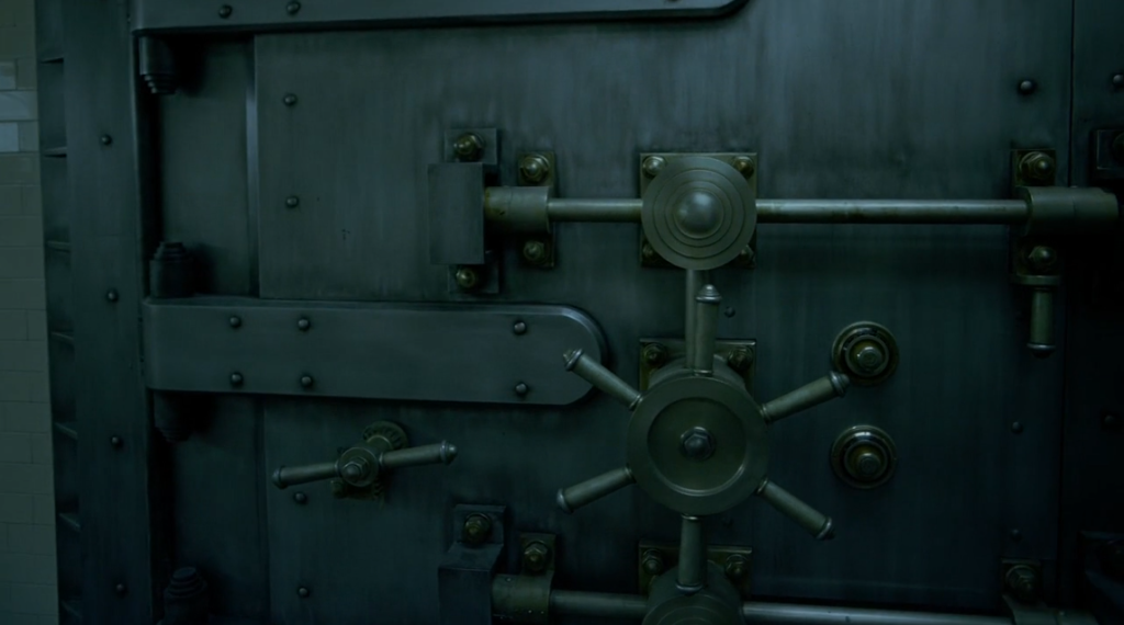 Dark Knight vault door