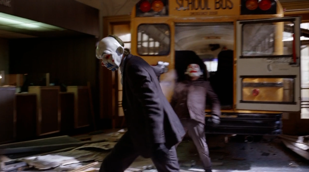 Bus driver shot in Dark Knight