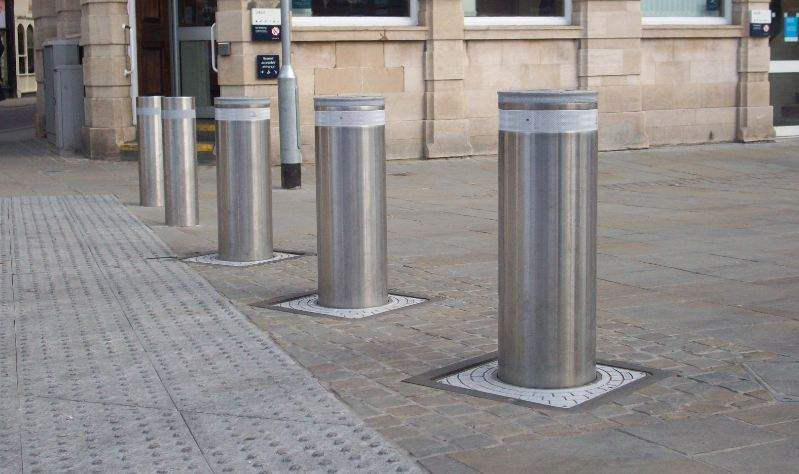 rising bollards in london